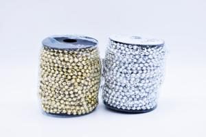 GALON METAL PERLAS/STRASS A400/S20 X10M